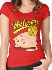 Whatever Women's Fitted Scoop T-Shirt