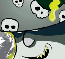 Evil Shroom Sticker
