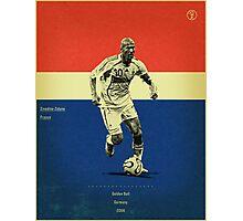 Zidane Photographic Print