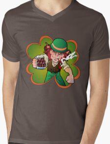 Leprechaun Mens V-Neck T-Shirt