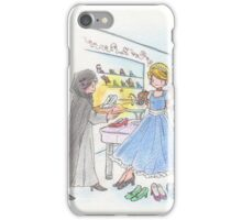 Cinderella and shoes iPhone Case/Skin