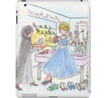 Cinderella and shoes iPad Case/Skin