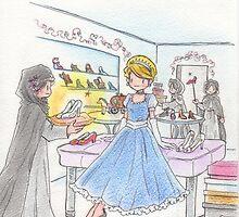 Cinderella and shoes by akemiemmaito