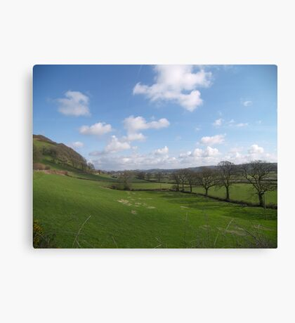 Road to Llandovery Canvas Print