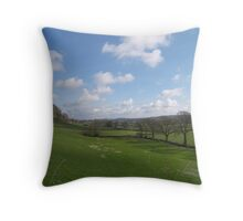 Road to Llandovery Throw Pillow