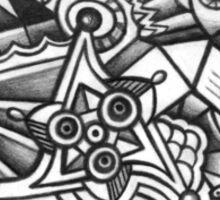 Design 009s1 - by Kit Clock Sticker