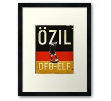 Ozil Framed Print
