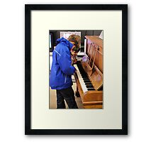 Tinkling On The Ivories Framed Print