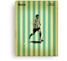 Messi Canvas Print