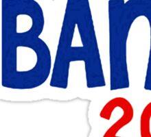 Obama 2008 Peace Sign Sticker
