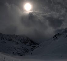 Winter in the Alps by PeterCseke