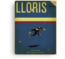 Lloris Canvas Print