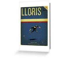 Lloris Greeting Card