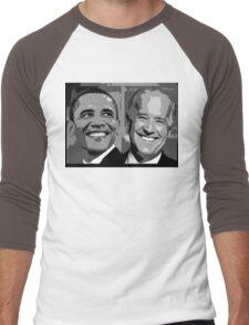 Obama Biden Men's Baseball ¾ T-Shirt