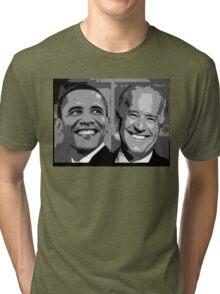 Obama Biden Tri-blend T-Shirt