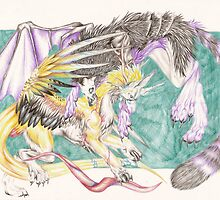 Fantasy Fight by Lyrebird