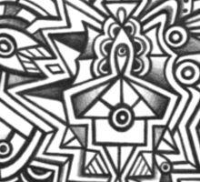 Design 017s1 - by Kit Clock Sticker