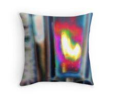 Abstract Light Fixture Throw Pillow