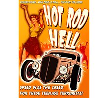 Hot Rod Hell Photographic Print