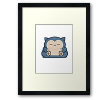 Mini Collection - Snorlax Framed Print
