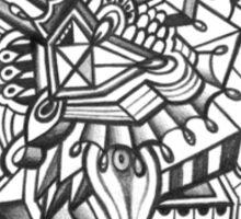 Design 020s1 - by Kit Clock Sticker