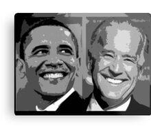 Obama Biden Metal Print
