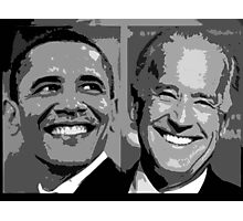 Obama Biden Photographic Print