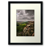 Stanage Edge Framed Print