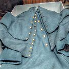 Authenic Officer's Coat, Civil War USA by Jane Neill-Hancock