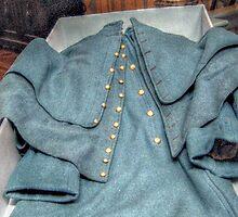 Authenic Officer's Coat, Civil War USA by Jane Neill-Hancock