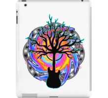 """Psychedelic Sonic Cyclone""   ( surreal guitar tree art) iPad Case/Skin"
