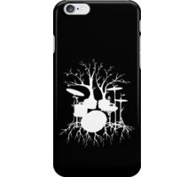 """""""Live the Beat to the Tempo of Creation"""" ~ drum tree art , version1 iPhone Case/Skin"""