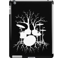 """Live the Beat to the Tempo of Creation"" ~ drum tree art , version1 iPad Case/Skin"