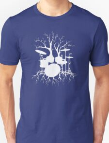 """""""Live the Beat to the Tempo of Creation"""" ~ drum tree art , version1 T-Shirt"""