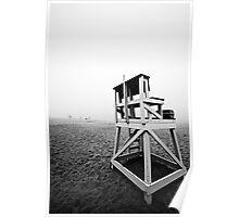 Lifeguard Chair. ©DApixara Poster