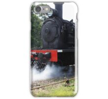 2705 Blowing off steam. iPhone Case/Skin
