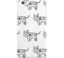 Meow Cat iPhone Case/Skin