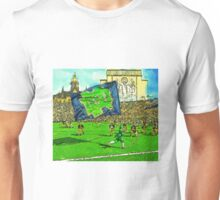Irish Flag on Saturday Unisex T-Shirt