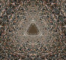 Pebble Mandala  by ImageInk