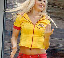 Blonde Angel by Bill Fonseca