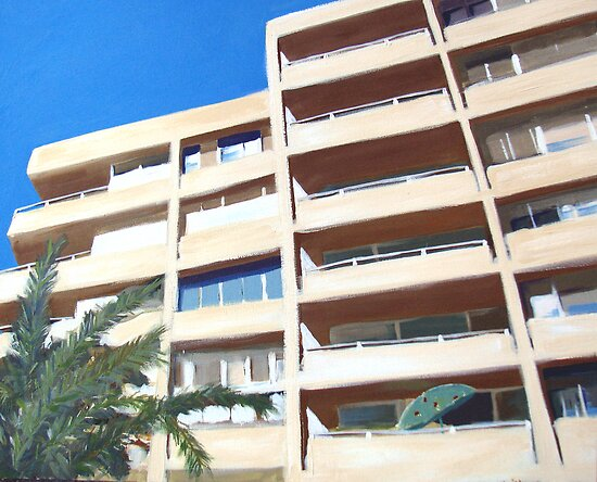 Beachfront Apartments  by ChristineBetts