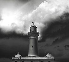 Macquarie Lighthouse Lighthouse in Sydney, Australia by Gary Blackman
