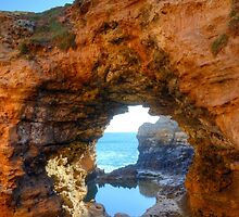 The Grotto, Peterborough, Great Ocean Road, Victoria, Australia by Martin Lomé