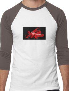 Smaug Fire Death Tea Humor Men's Baseball ¾ T-Shirt