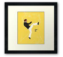Hayden High Kick (V2) Framed Print