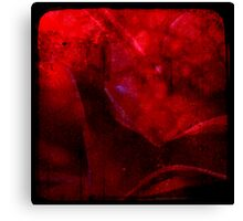 Ttv: Dirty Red Rose Canvas Print