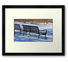 Cold Seats Framed Print