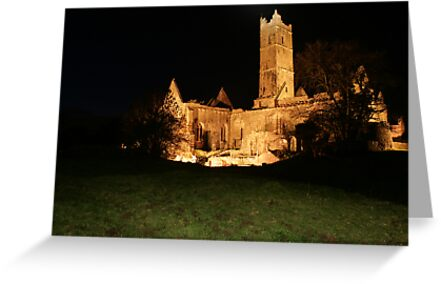 Quin Abbey by John Quinn