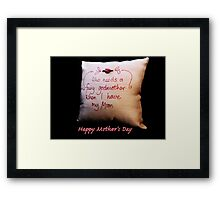 Fairy Godmother: Mother's Day Framed Print
