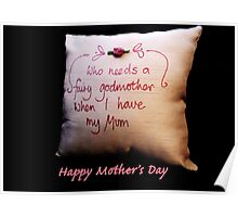 Fairy Godmother: Mother's Day Poster